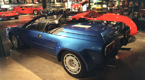 Lamborghini Jalpa Spyder Prototype High Resolution Images